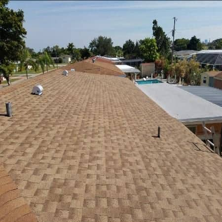 Roof shingles installed by I Can Roofing